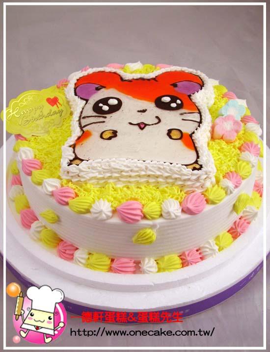 卡通老鼠蛋糕图片/老鼠蛋糕图片/老鼠翻糖蛋糕