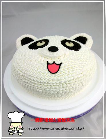 编号小熊19号半立体蛋糕