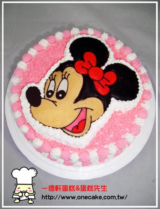 蛋糕目录:7类.卡通半立体(镜面)