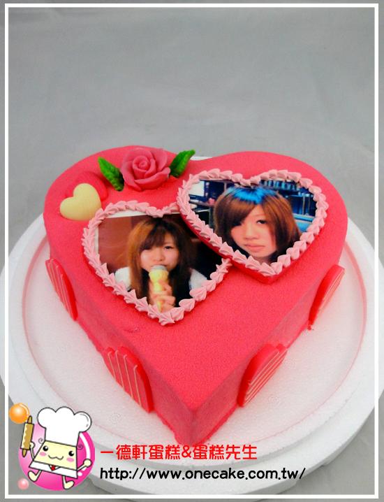 生日蛋糕三层简笔画