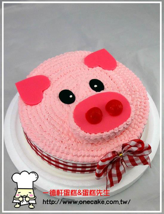 猪的生日蛋糕图片大全