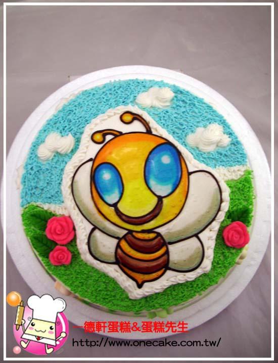 蛋糕纸盘手工制作图片蜜蜂