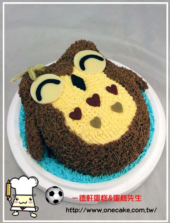 猫头鹰蛋糕动物蛋糕可爱蛋糕图片可爱卡通猫头鹰图片