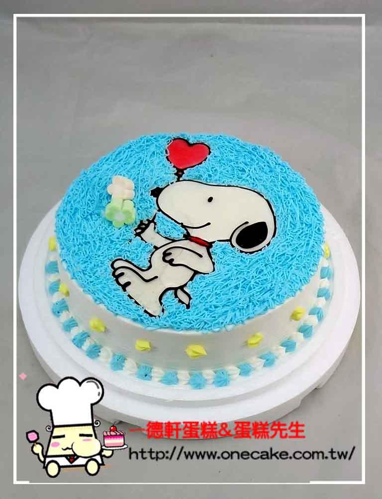 生日蛋糕图片卡通鸡生日蛋糕