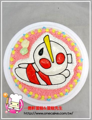 蛋糕目录:6类.卡通半立体(镜面)