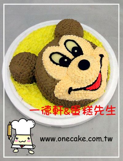 卡通老鼠生日蛋糕