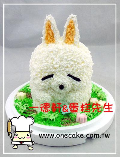 可爱动物 参考图片 兔子21号蛋糕