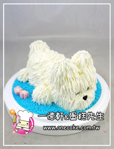 q版可爱动物 蛋糕目录:20类.