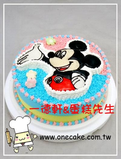 蛋糕目录:18类.米老鼠卡通